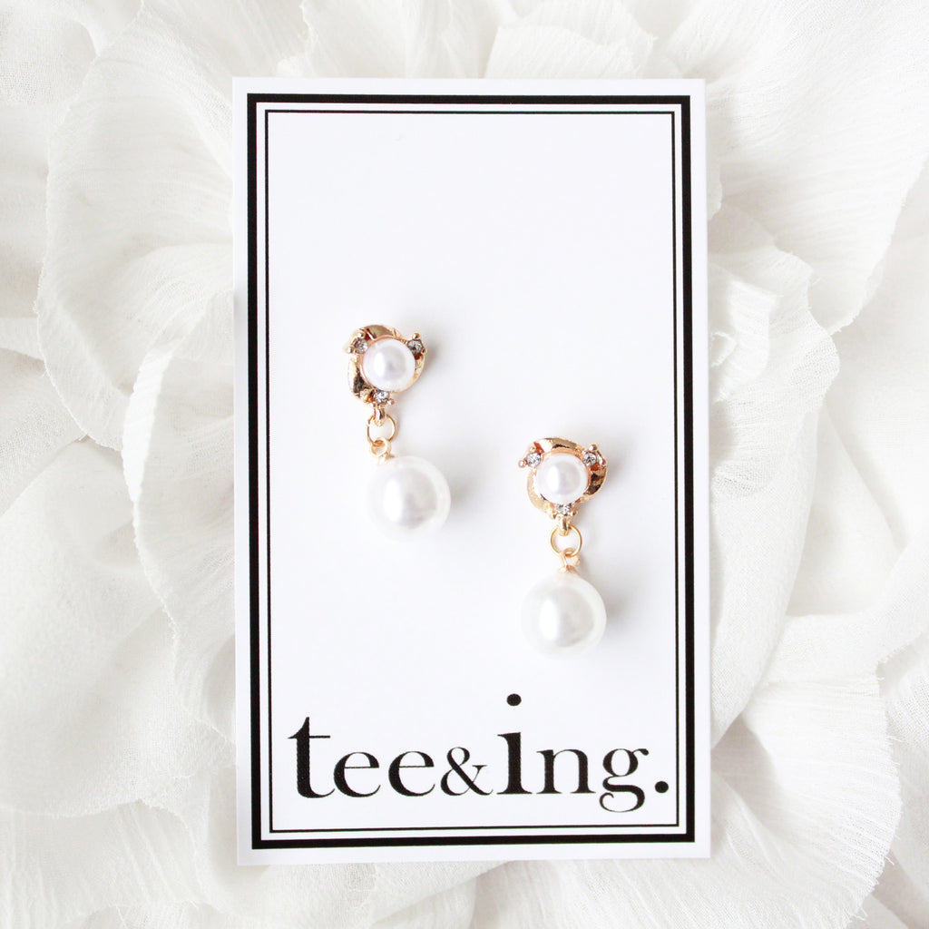 Tiffany earrings - tee & ing. - 1