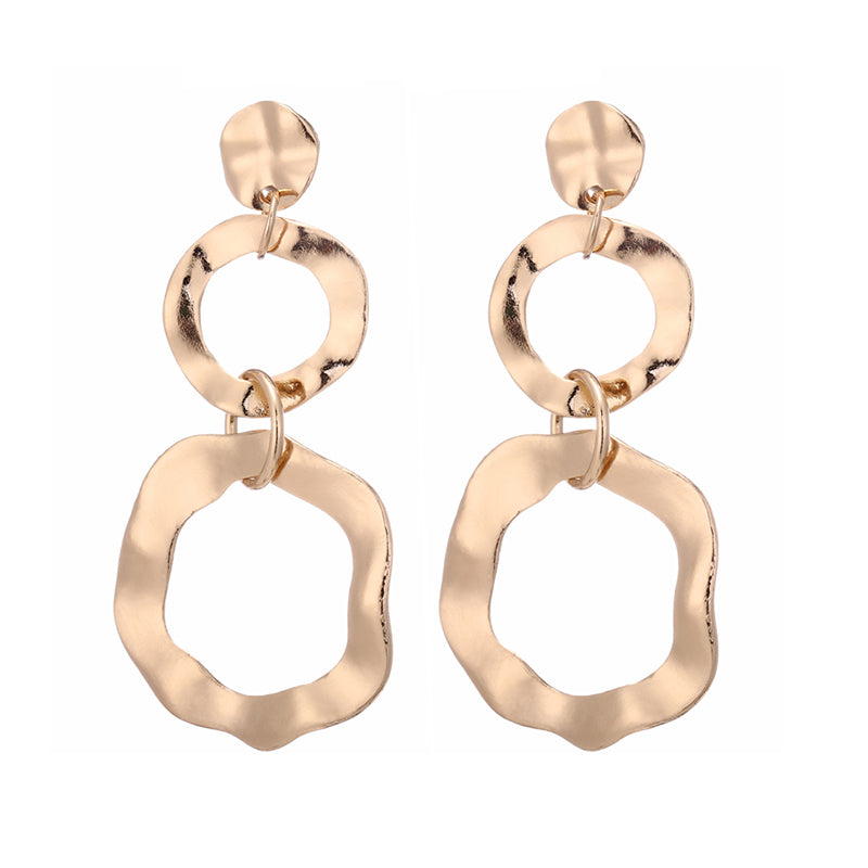 Into You Gold Earrings