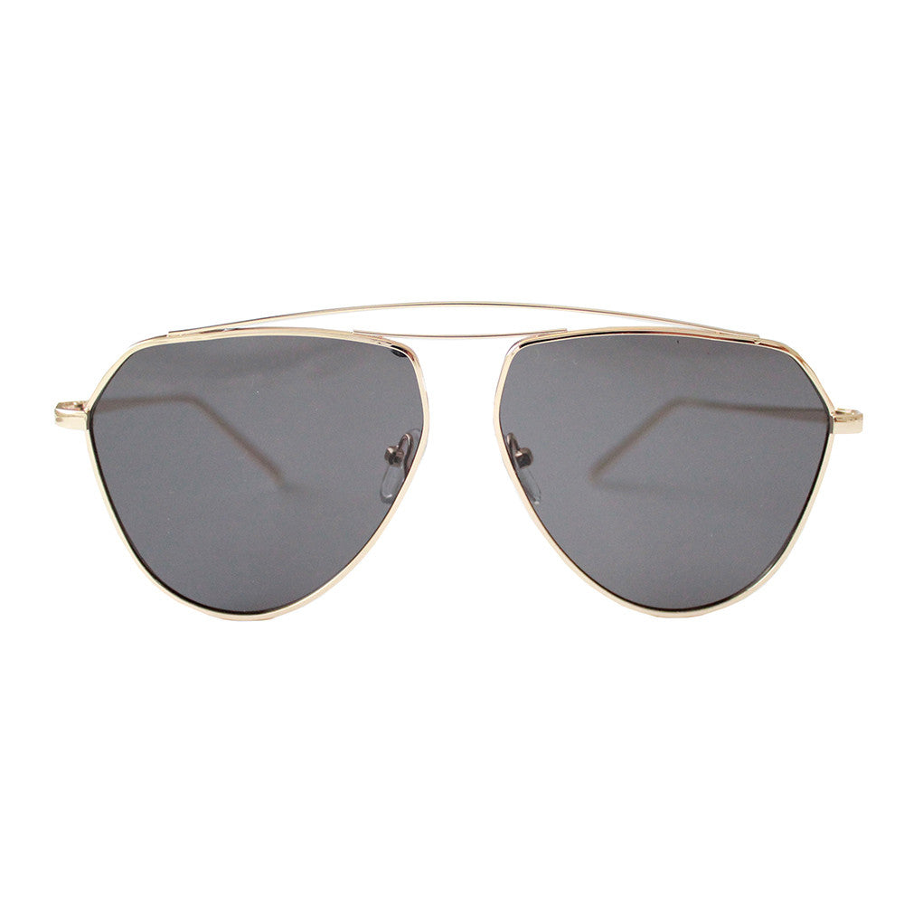 Aviator Sunglasses Black/Gold