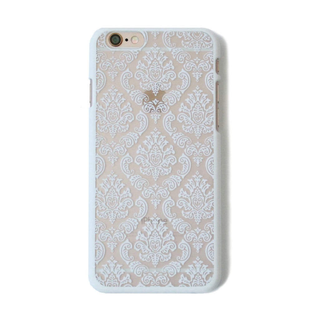 Baroque White Iphone 6/6s case -