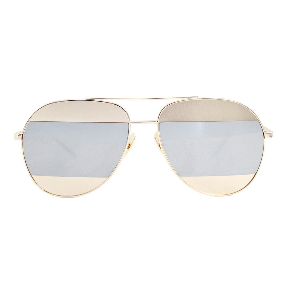 Berlin Sunglasses Gold & Silver