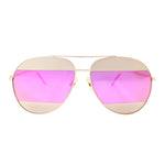 Berlin Sunglasses Magenta Gold