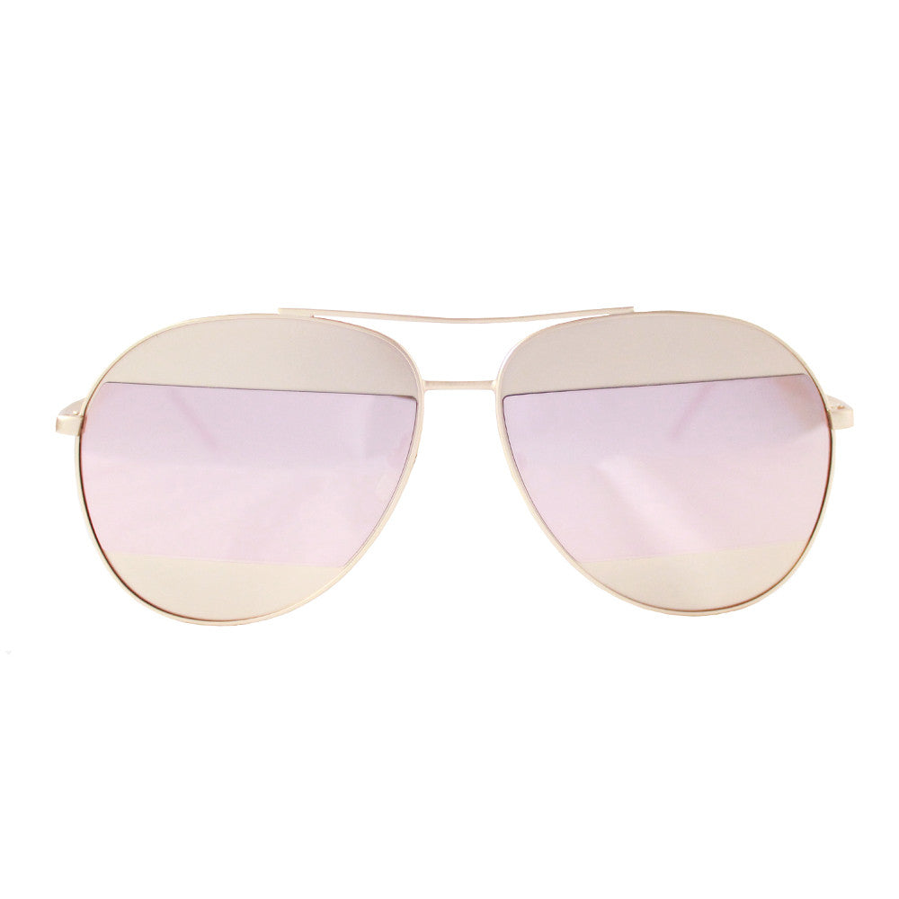 Berlin Sunglasses Rose Gold