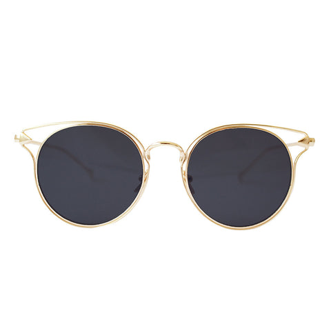 Boston Sunglasses Black & Gold