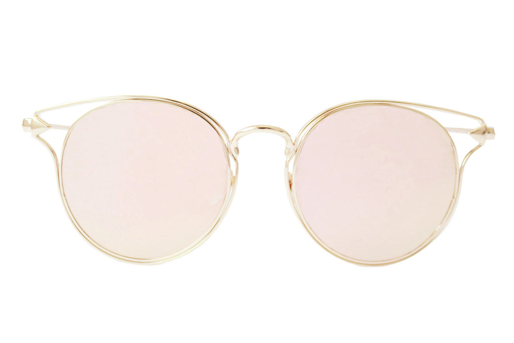 Boston Sunglasses Rose gold - tee & ing. - 1