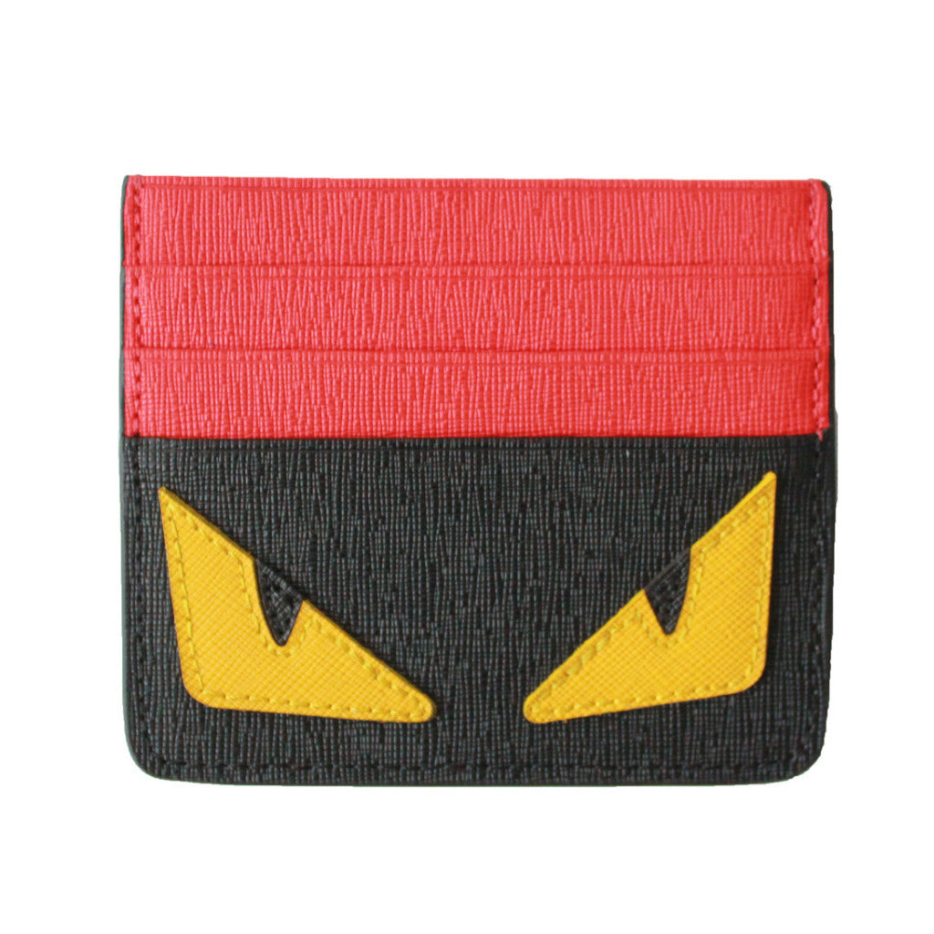 Monster card holder (100% Taiga leather) - tee & ing. - 1