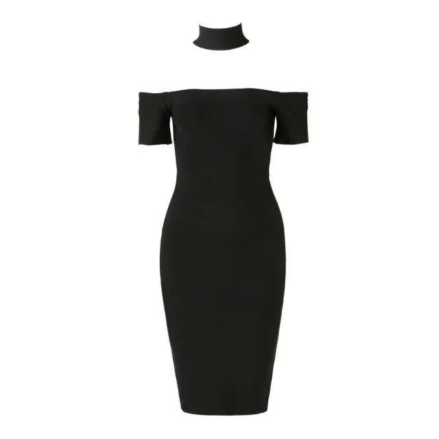 Ruby Bandage dress black