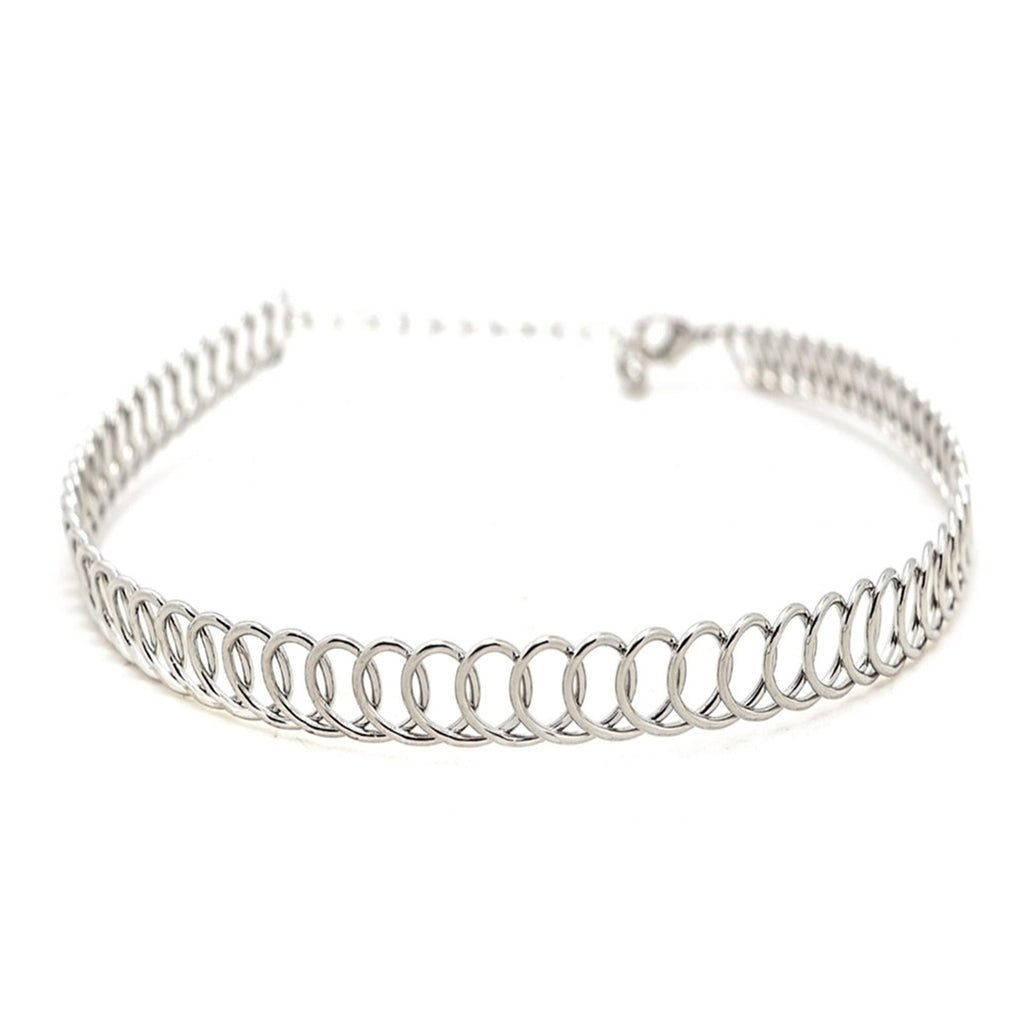 Crush choker Silver