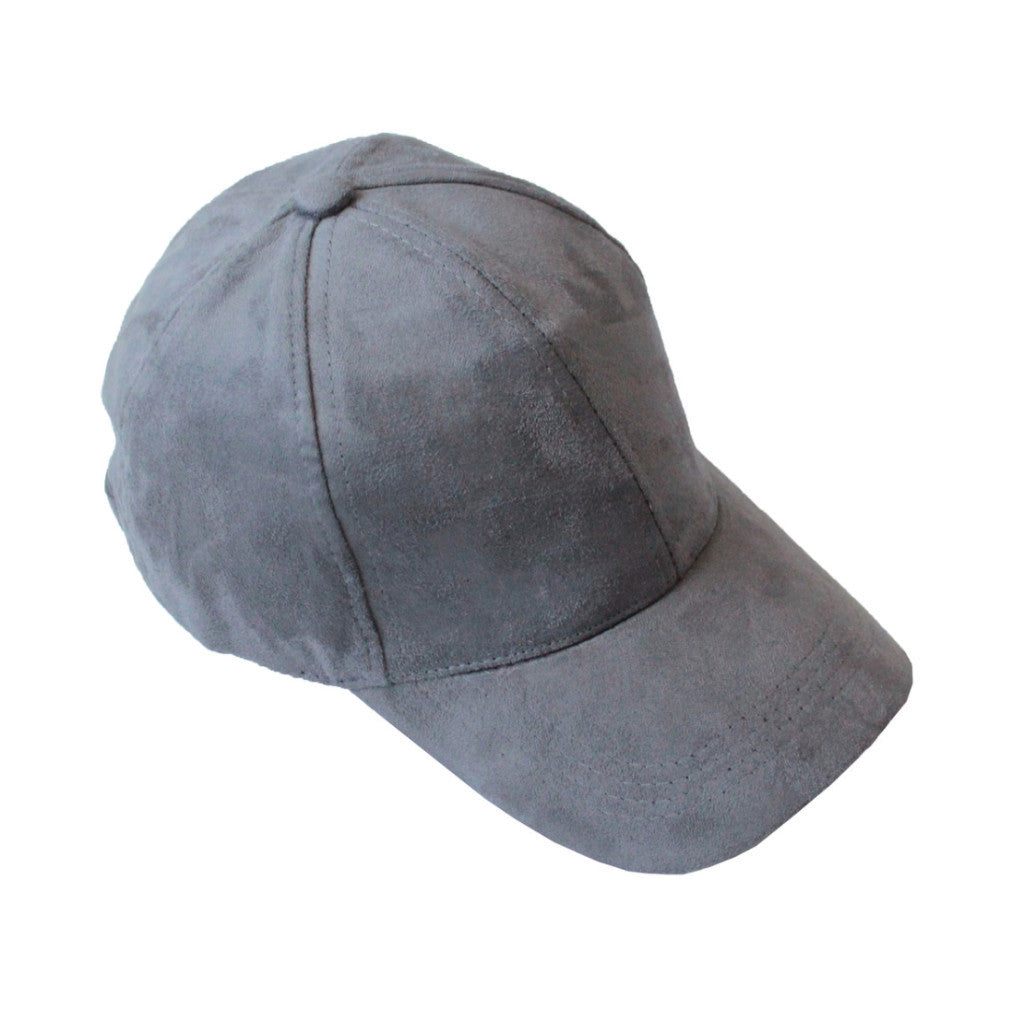 Suede Cap Charcoal - tee & ing.