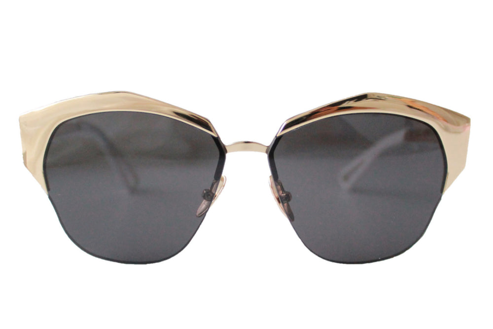 Deja vu Sunglasses Black & Gold