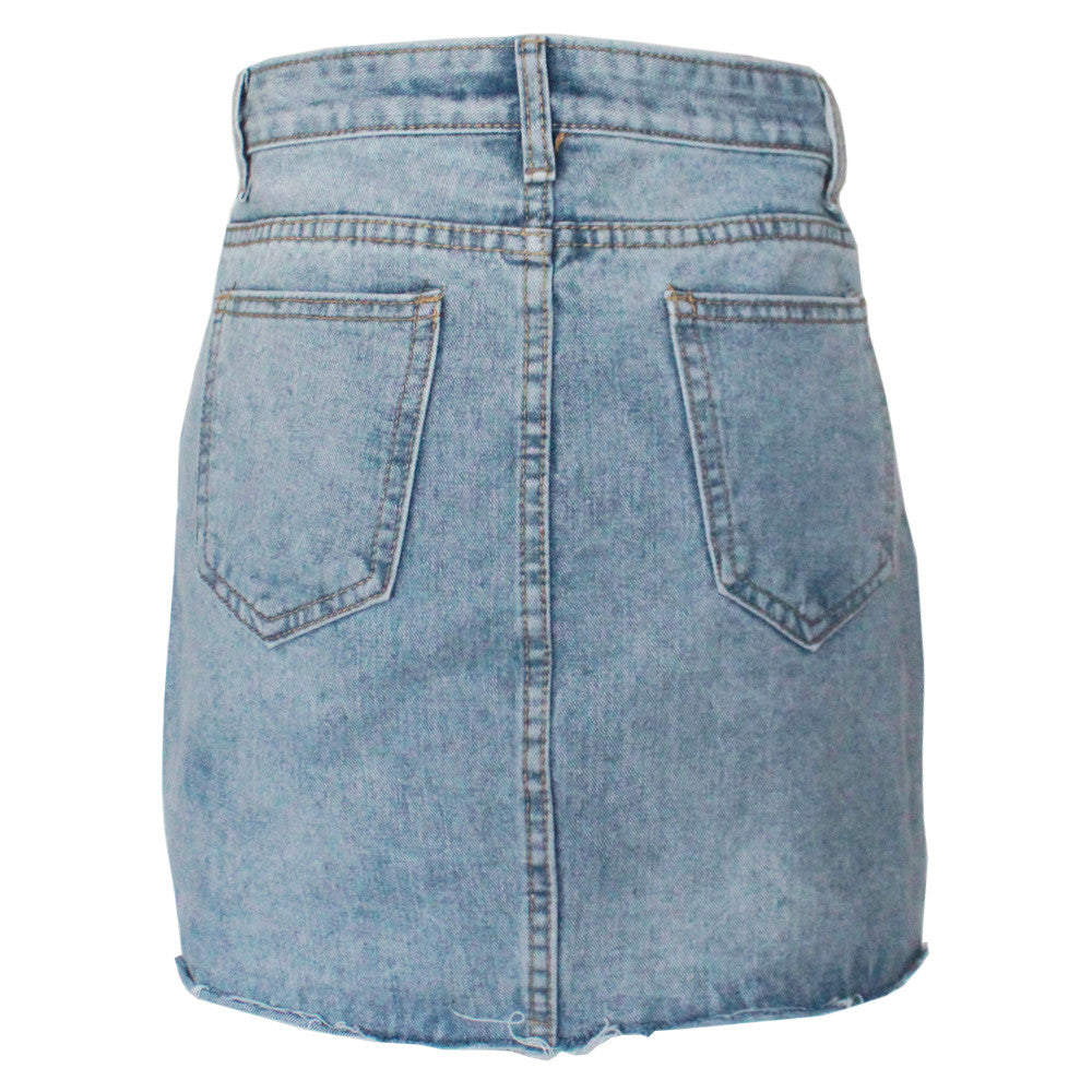 Heartbreak Denim Skirt
