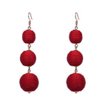 Estelle earrings - Red