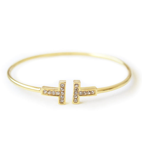 Eternal bangle gold
