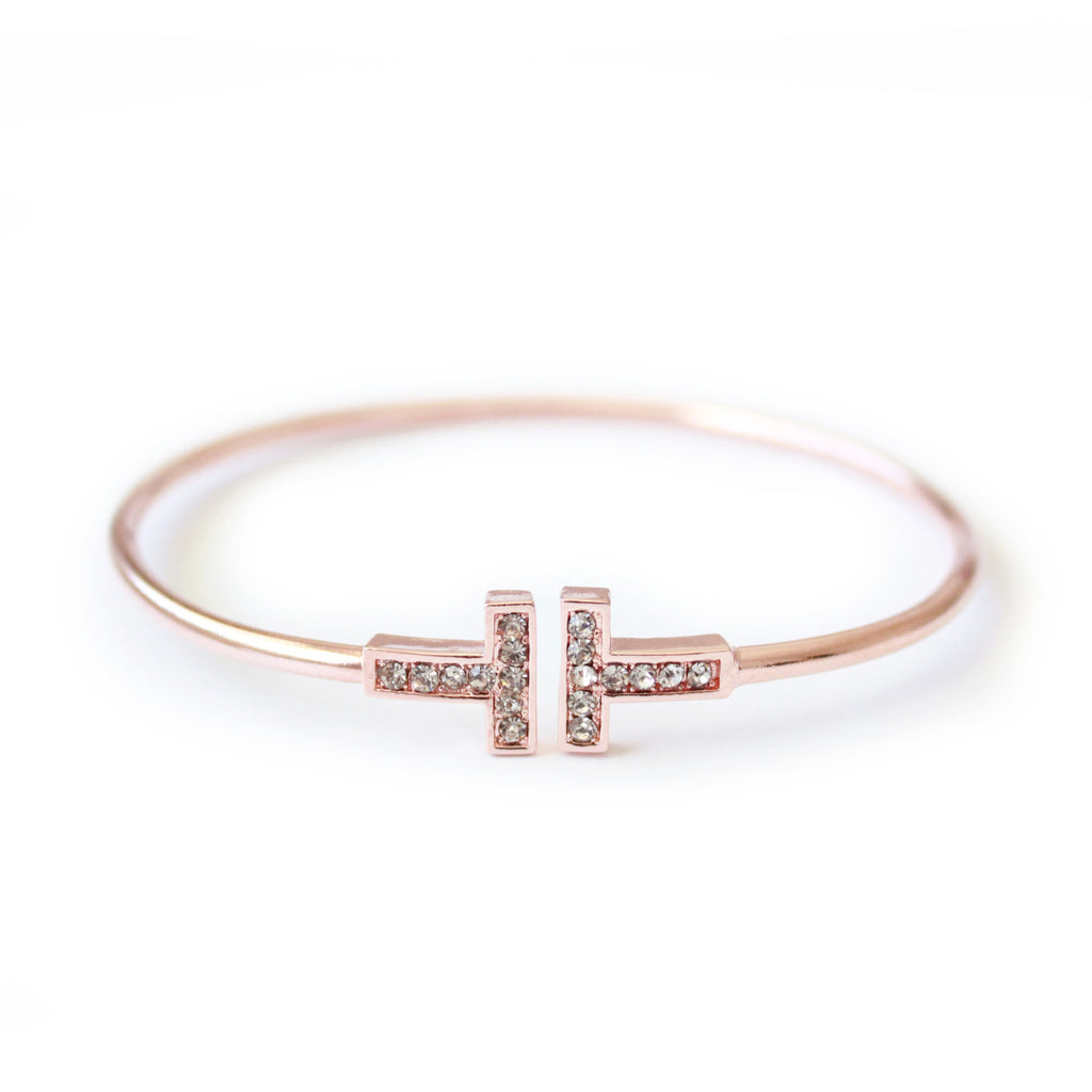 Eternal bangle rose gold