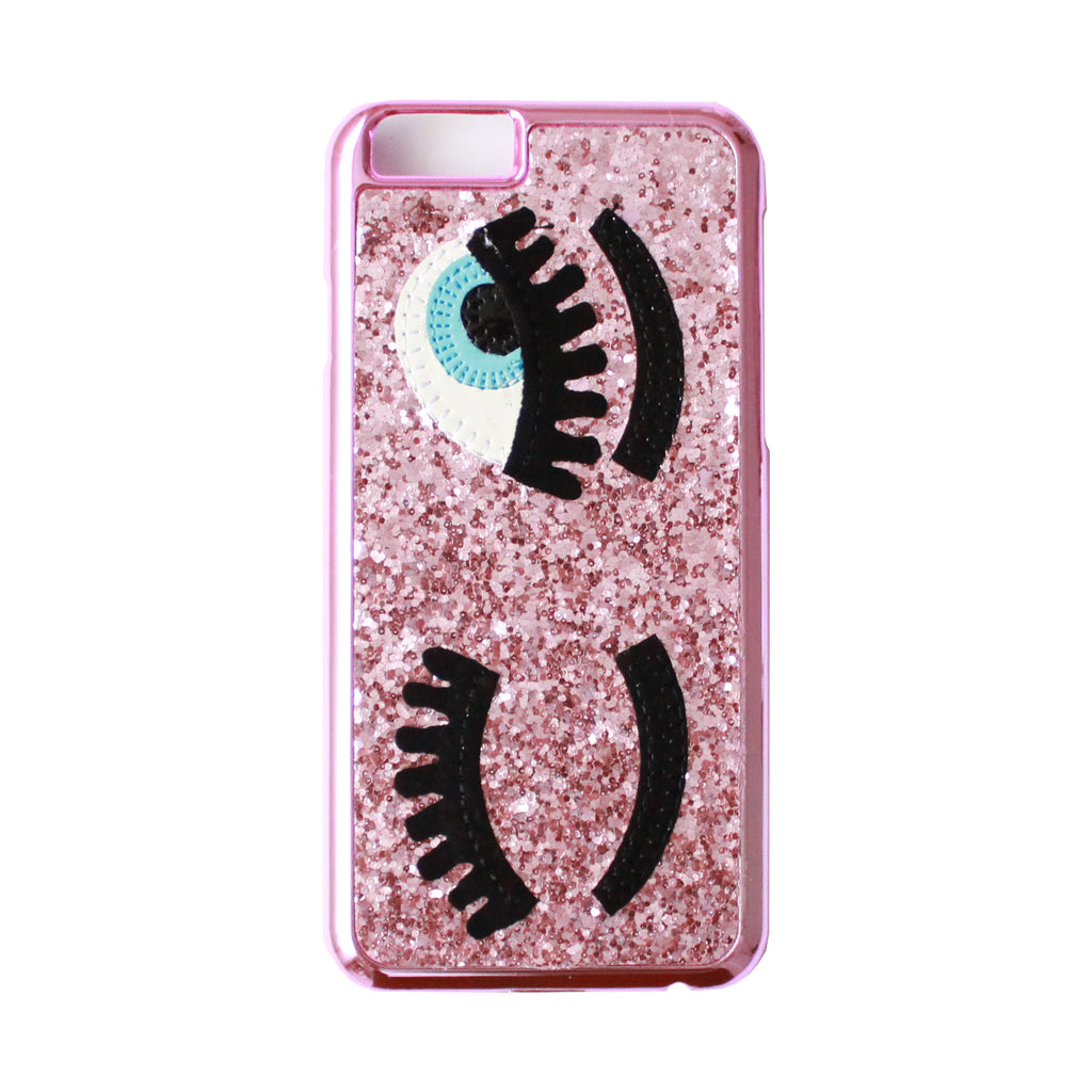 Eye Glitter Pink Case - IPhone 6 & 6 Plus