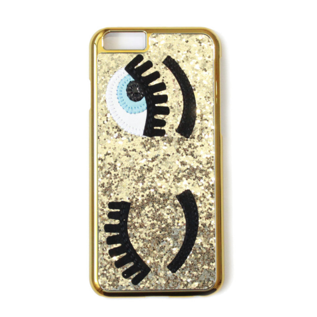 Eye Glitter Gold Iphone 6/6s & Iphone 6plus/6splus -
