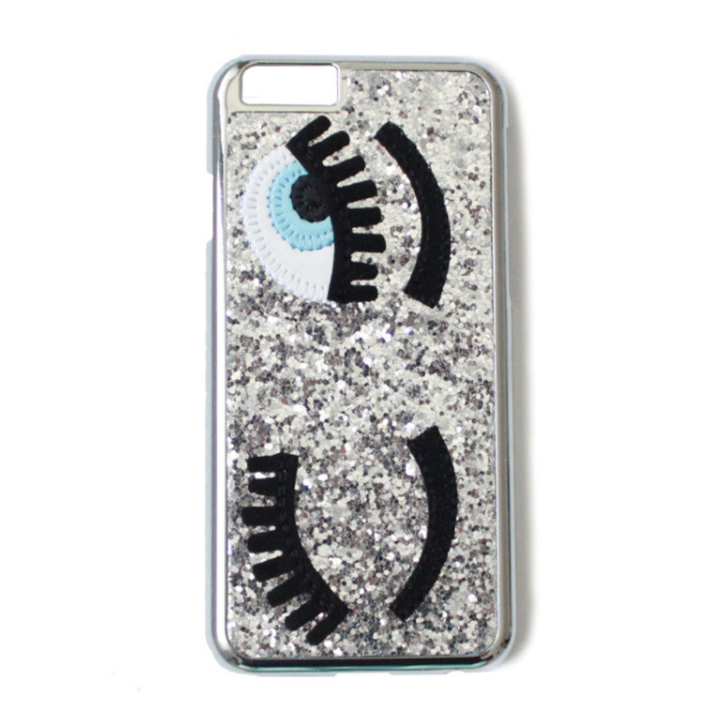 Eye Glitter Silver Iphone 6/6s & Iphone 6 plus/6s plus -