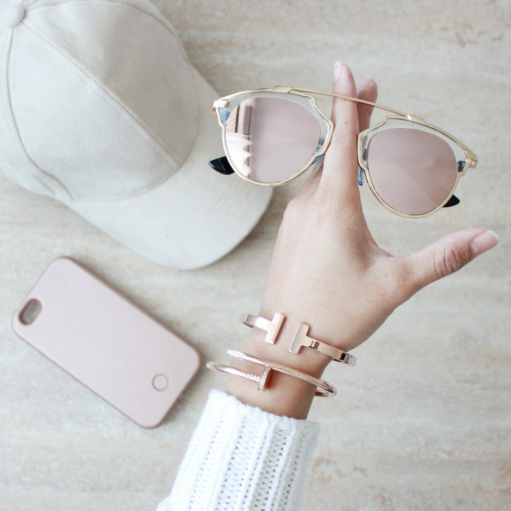 Holly Sunglass Rose Gold - tee & ing. - 3
