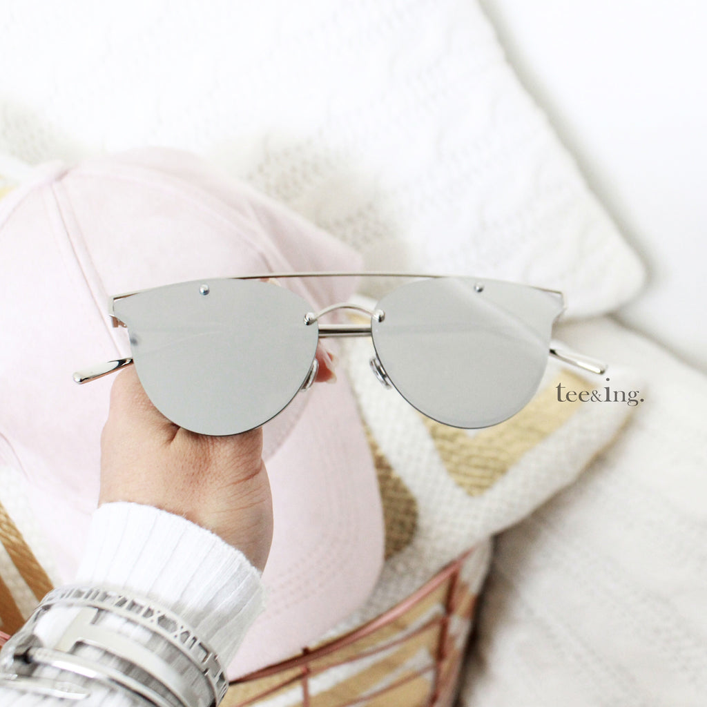 Bliss Sunglasses silver