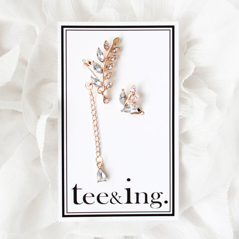 Iris earrings - tee & ing. - 1