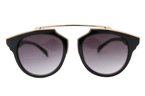 Kate Sunglasses Black & Gold -  - 1
