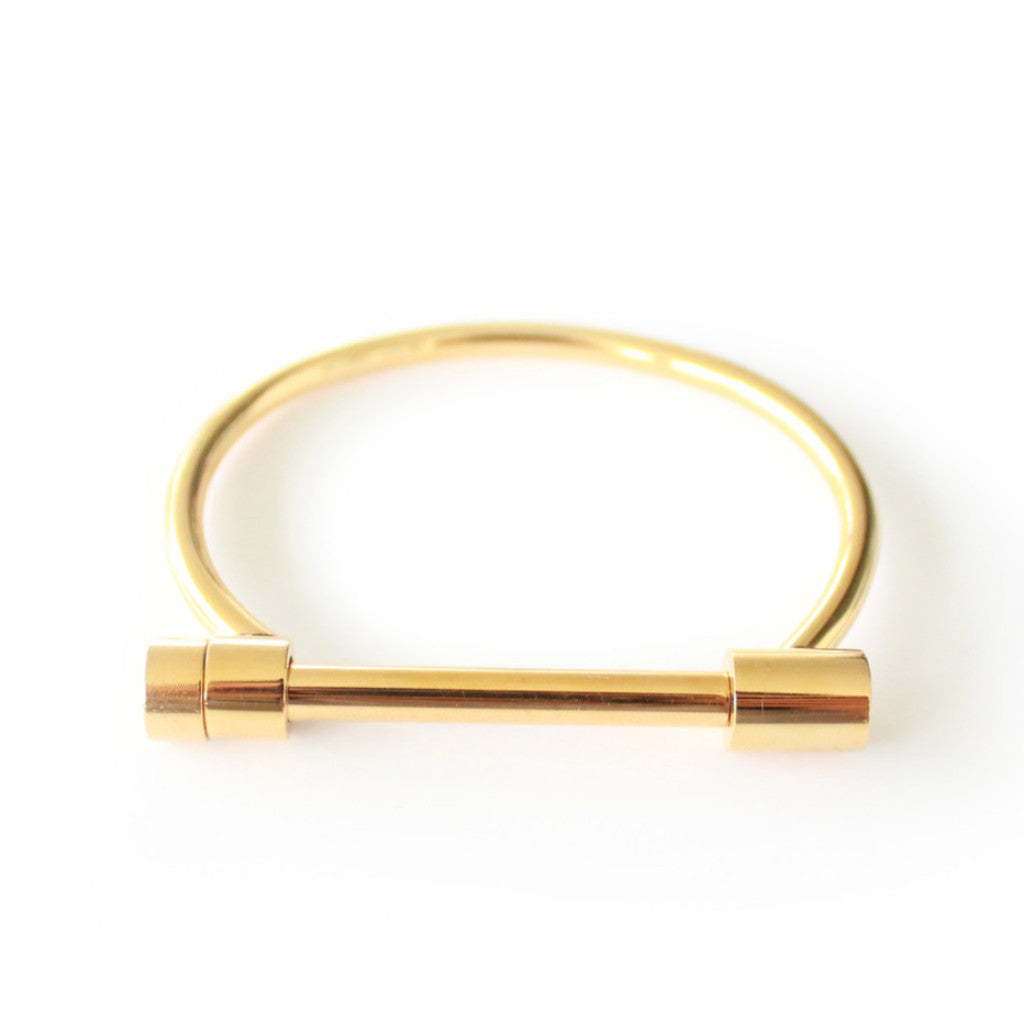 Kiki Bangle Gold - tee & ing. - 2