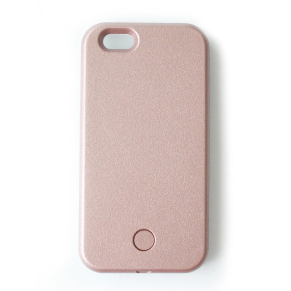 Selfie illuminated Iphone 6/6s Case - Rose Gold - tee & ing.