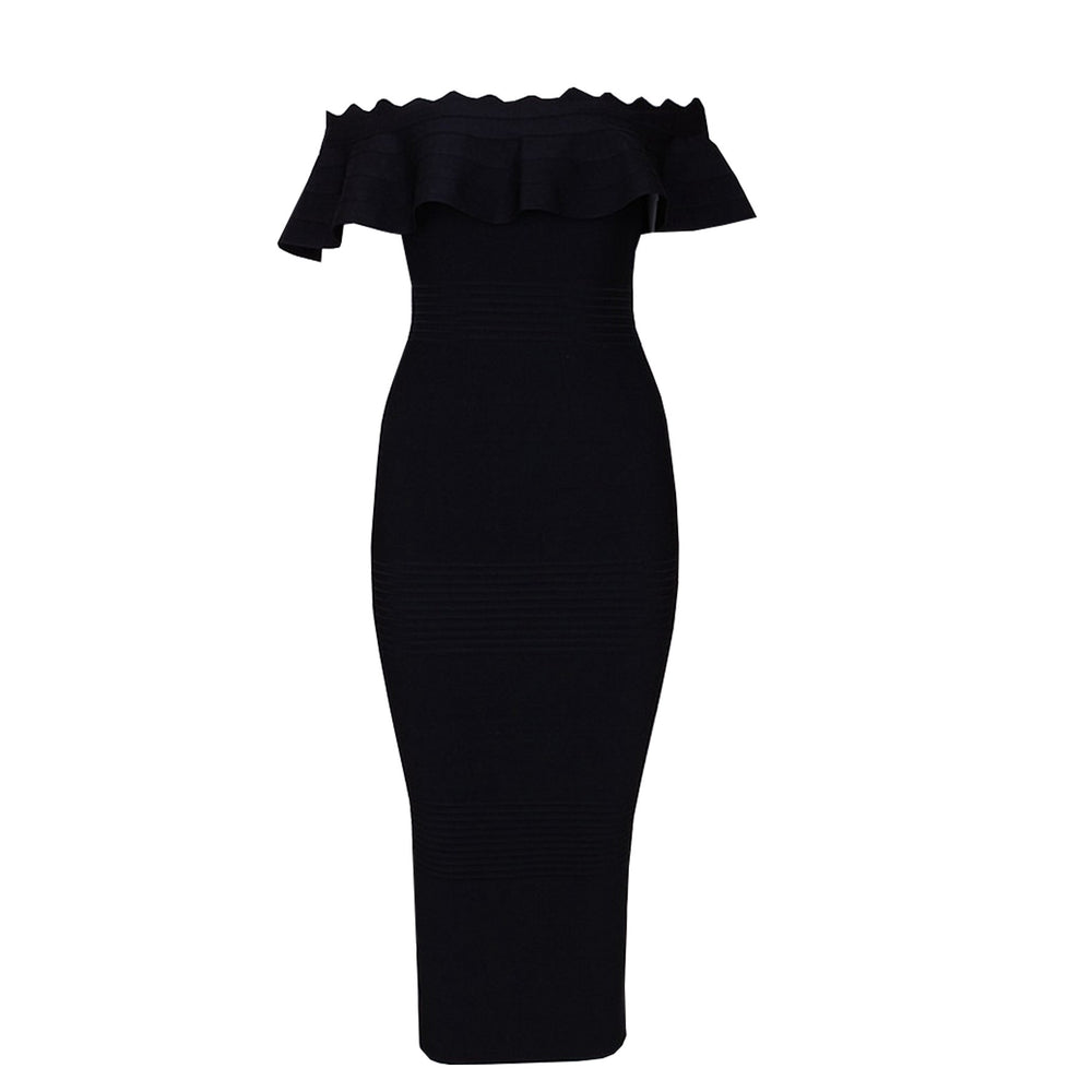 Hailey Bandage Dress - Black