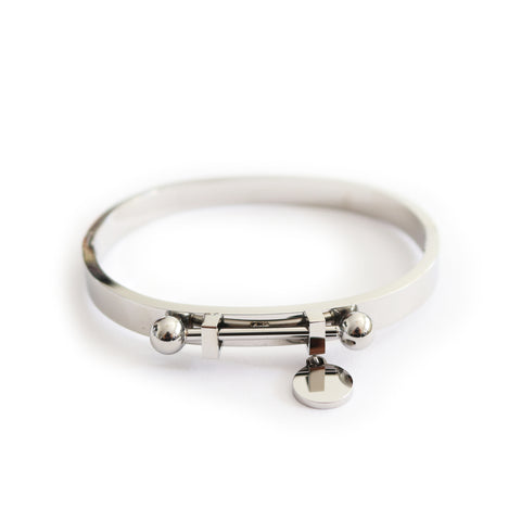Orbit Bangle Silver