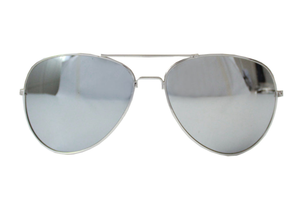 Pilot Sunglasses Silver/mirrored -