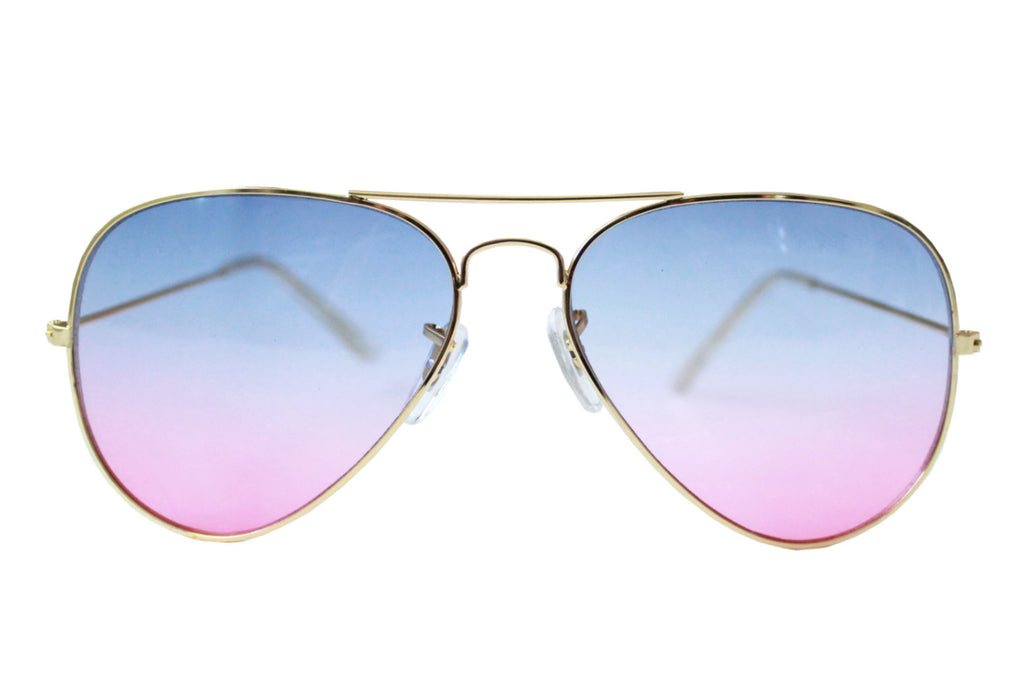 Pilot Sunglasses Blue/purple gradient - tee & ing.