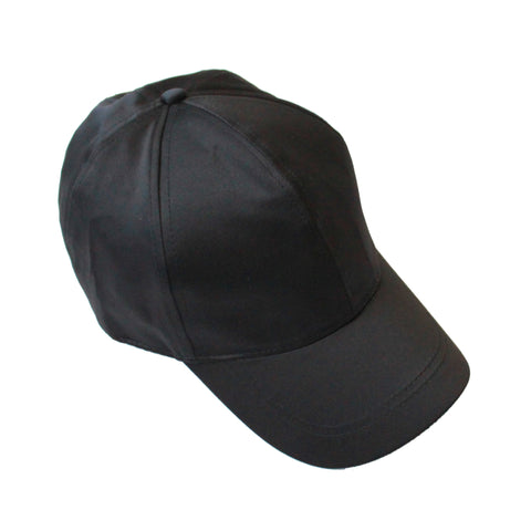 Satin Cap Black