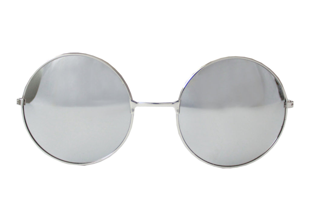 Splendour Sunglasses Silver/mirrored - tee & ing.