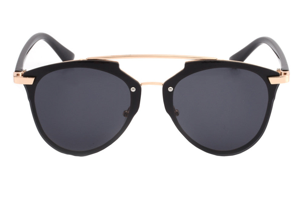 St Tropez Sunglasses Black/Gold