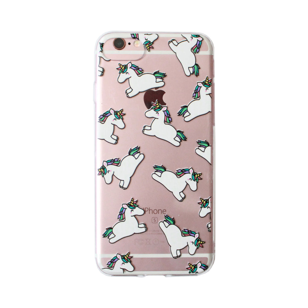 Rainbow unicorn Case Iphone 7