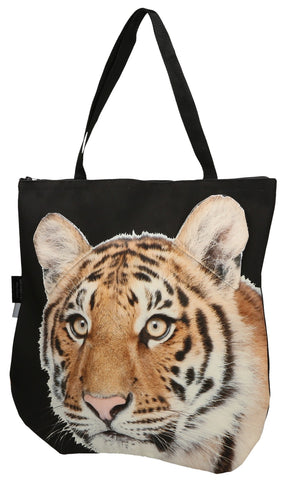Animal Tote Bag with 3D Face of Tiger #170