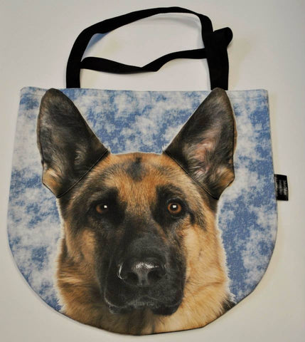 3D Bag with Face of German Shepherd Dog