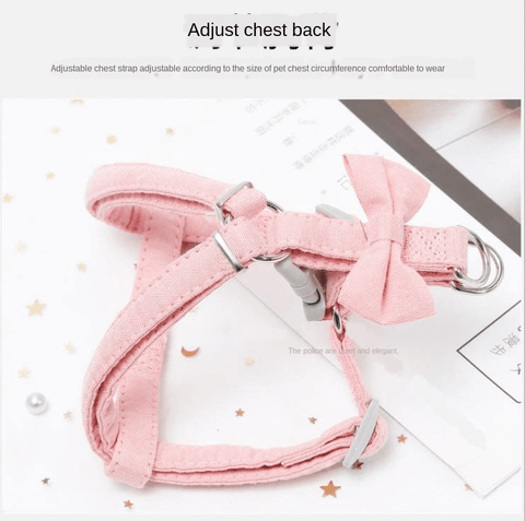 Small Cet Harness And Leash