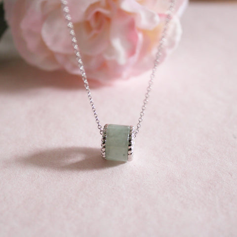 [Made-to-Order] Abundance Jade Necklace in Green Jade
