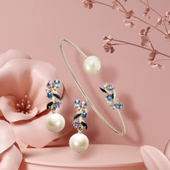 [NEW IN] Delilah Dangling Earring with Pearl
