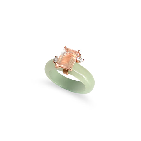[NEW IN] Candylicious Emerald-Cut Jade Ring