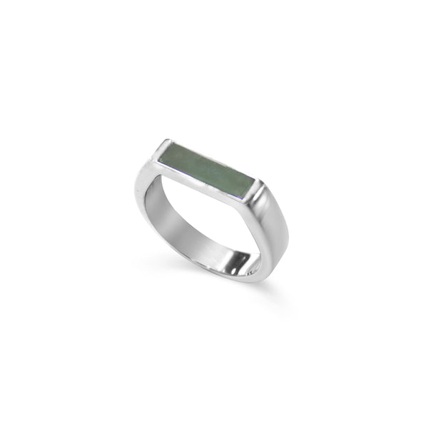 [Made-to-Order] GEN.K HOMME: Joel Bar Jade Ring