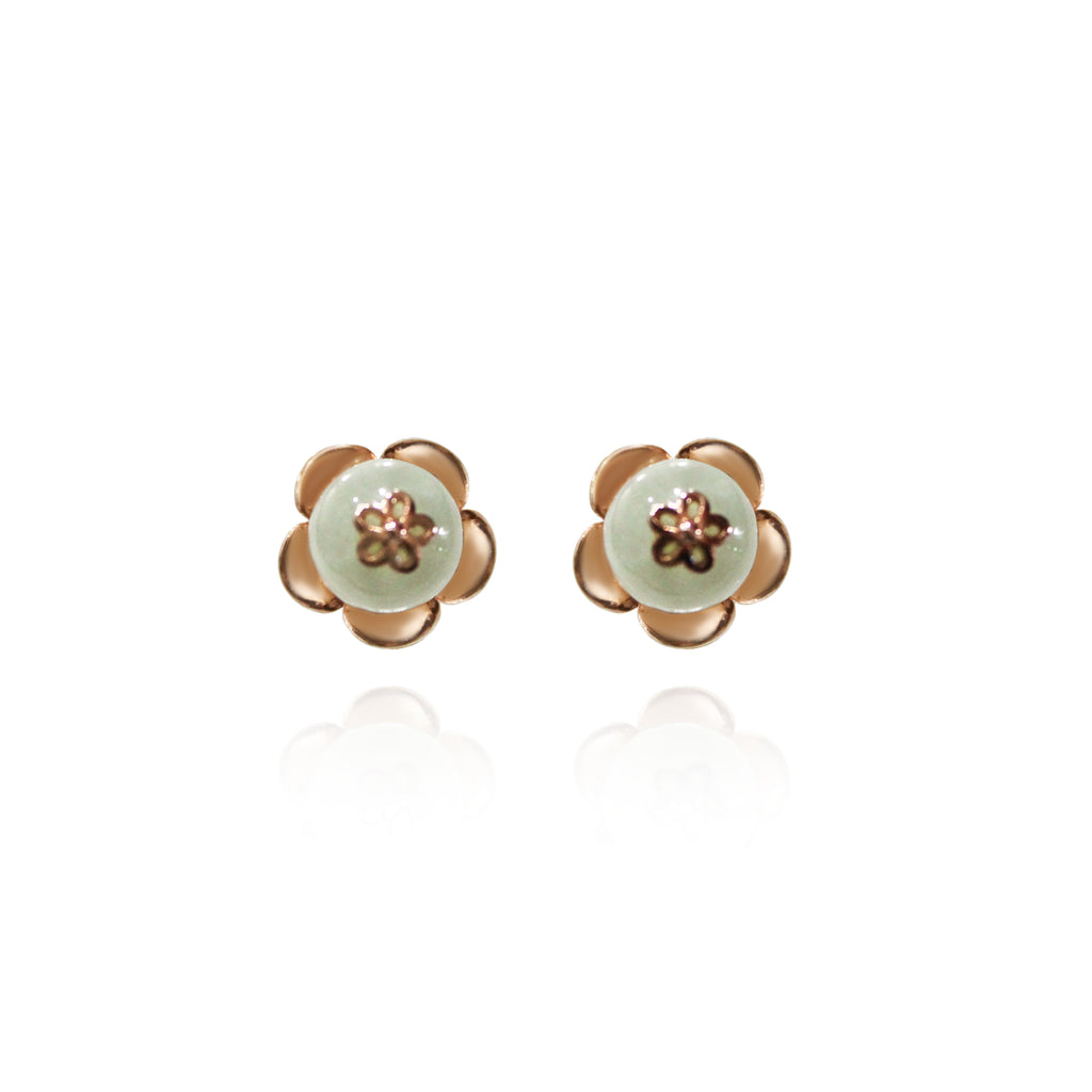 [Made-to-Order] Dazzle Collection - Petite Flower Bloom Earring