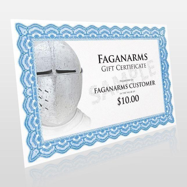 $10 Fagan Arms Gift Certificate - Product / Gift Certificate