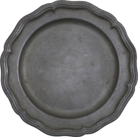 18th CENTURY FRENCH PEWTER DISH