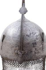 18Th Century Indopersian Helmet Kulah Khud - Product