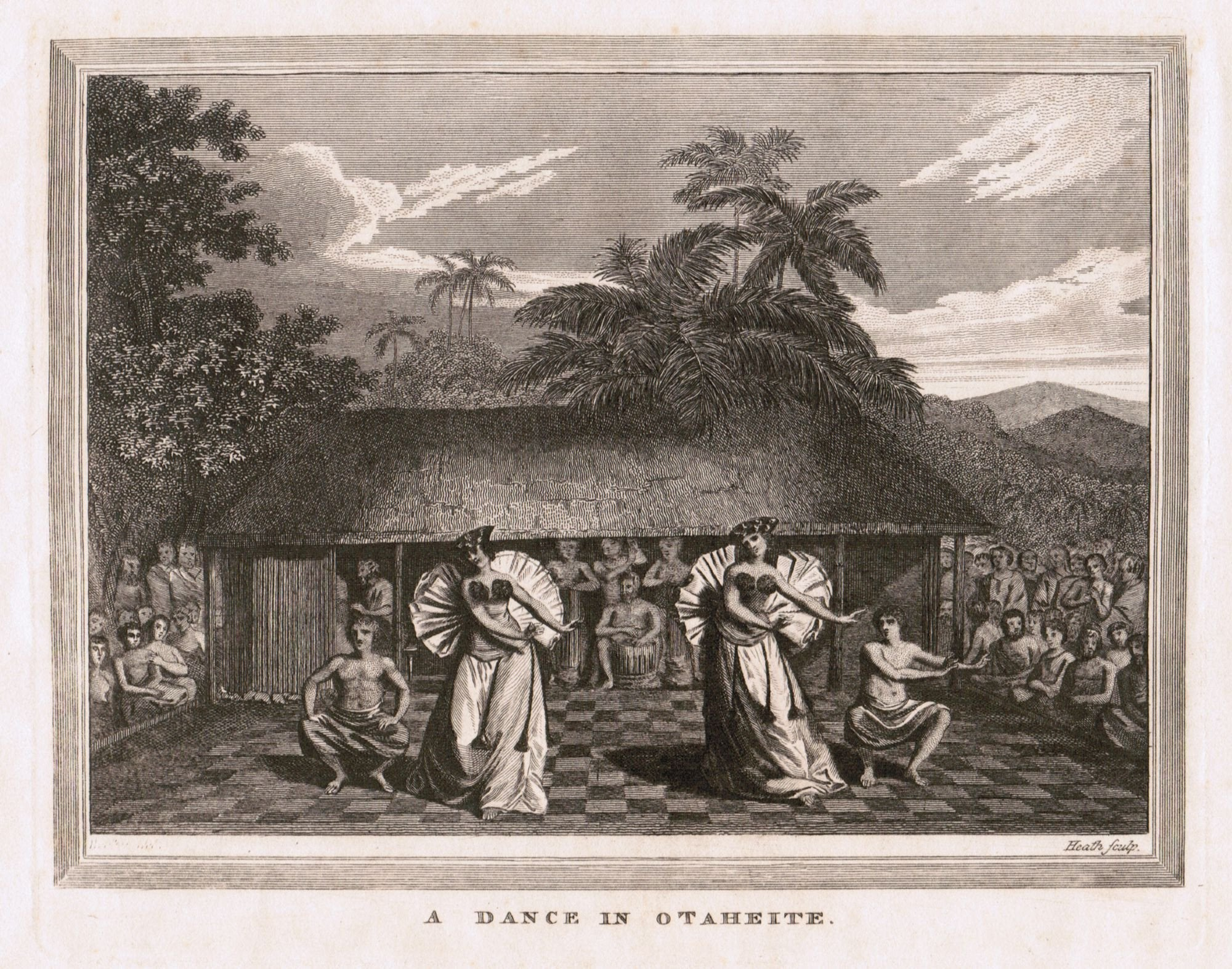 18Th Century Lithograph Of Hawaii - Product