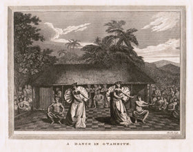 18th CENTURY LITHOGRAPH OF HAWAII
