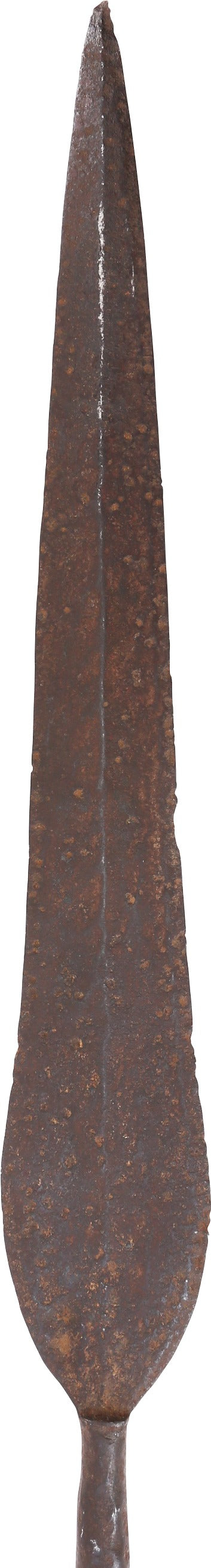 CONGOLESE SLAVER'S SPEAR, SECOND HALF OF THE 19th CENTURY