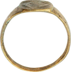 MEDIEVAL EUROPEAN RING C.900-1200 AD SIZE 10